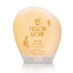 Gel dưỡng thể từ Vàng và Tơ Tằm Yellow Rose - GOLDEN LINE GINGER BODY GEL