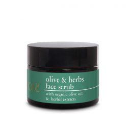 Kem tẩy tế bào chết da mặt từ Olive - OLIVE & HERBS FACE SCRUB