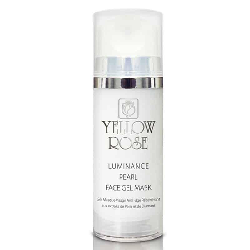 Mặt nạ gel Yellow Rose trắng sáng da từ Ngọc Trai - LUMINANCE PEARL FACE GEL MASK