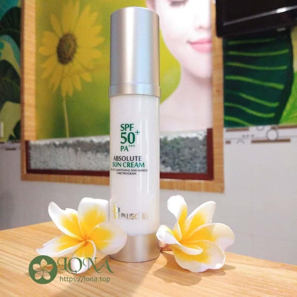 Kem chống nắng Dr Pluscell Absolute Sun Cream là sản phẩm mới ra mắt của thương hiệu Dr pluscell