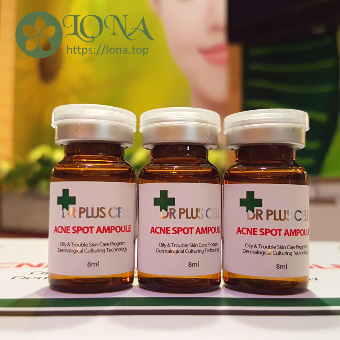 Tế bào gốc trị mụn Dr pluscell