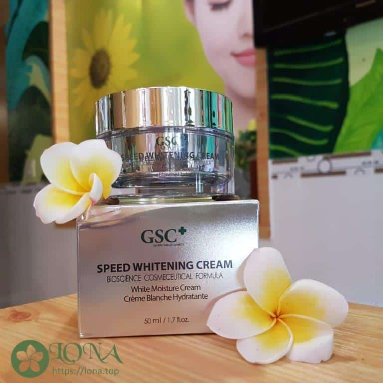 GSC Speed Whitening Cream