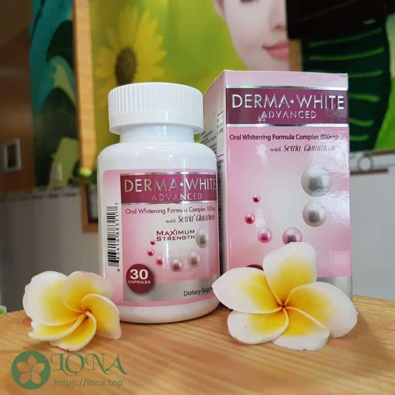 viên uống derma white advanced