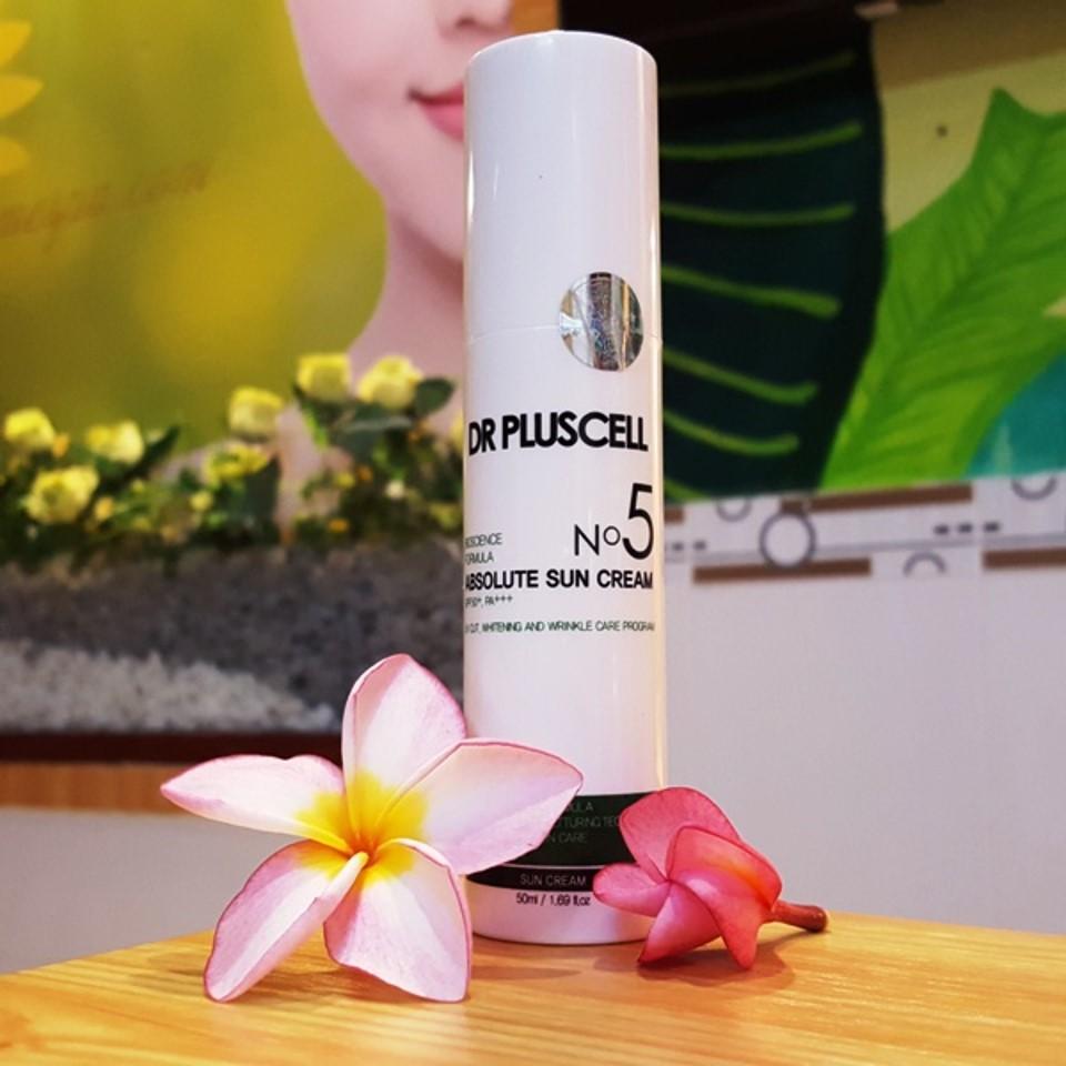 Kem chống nắng Dr Pluscell - lựa chọn hoàn hảo để bảo vệ làn da.