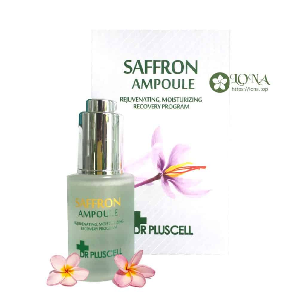 serum saffron dr pluscell